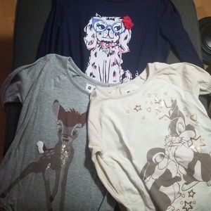 Gap and Gymboree girls tops lot